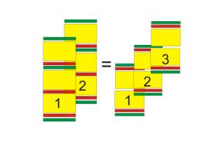 Dwa ule  3-korpusowe = trzy ule 2-korpusowe.